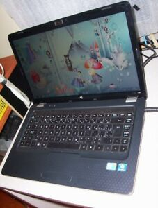 "15.6""HP G62 i3 @2.40 320Hd 4gDDR3  W10 HDMI WiFi CAM-ADD UPGRADE"