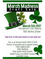 ANNUAL MARCH MADNESS CRAFT SALE