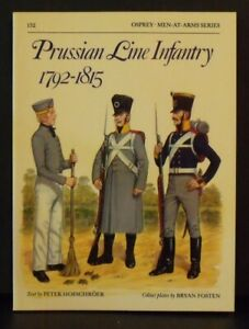 Osprey   Men-At-Arms Series # 152   Prussian Line Infantry