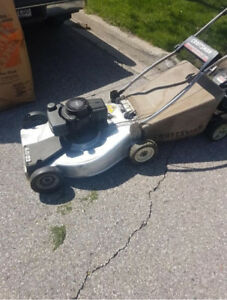 Gas Lawnmower For Sale with Bag