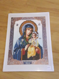 Religious mother and child diamond Painting NEW