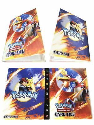 Pokemon Card Binder Portfolio Pocket Album Books Portfolio 240 Holder F