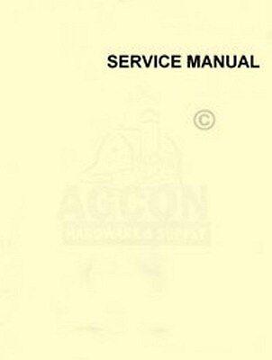 Allis Chalmers 100 All Crop Forage Harvester Service Manual
