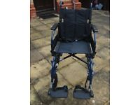 Invacare Zipper 2 Folding Wheelchair