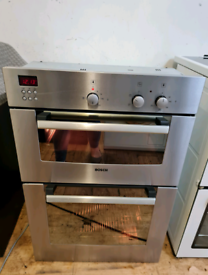 Bosch double electric oven built-in up stainless Steel 60cm