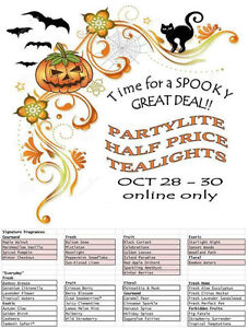 Partylite Tealights Half Price On Line Only Oct. 28-30 No Limit Prince George British Columbia image 4