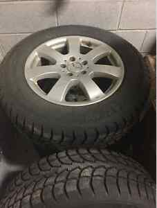 MERCEDES ML 2006-2011 WINTER RIMS/TIRES (NEW CONDITION!!!)