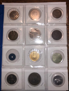Canadian Medals & Tokens - Assorted Collection