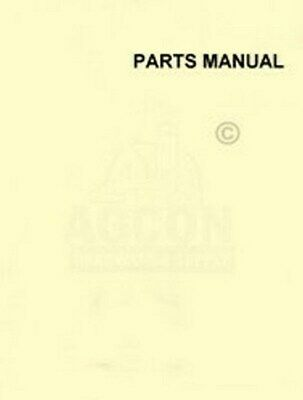 John Deere 4484 4684 488 5184 5186 Cotton Corn Planter Parts Manual Catalog 1036