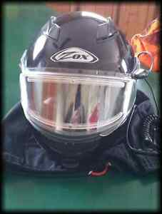 ZOX FULL FACE HEATED SKIDOO ATV HELMET, XL