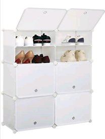 Storage cupboard for shoes, clothes, toys