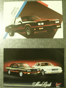 Monte Carlo SS Post Cards