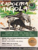 Capoeira angola - Entraînement intense, danse et musique