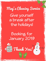 May's Cleaning Service!