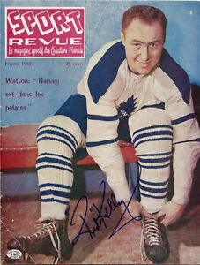 Toronto Maple Leafs Signed Red Kelly - 1962 Sport Revue Magazine