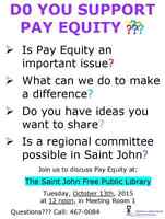 Do You Support Pay Equity?