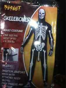 Adult Skeleboner Halloween Costume - USED