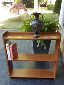 Bookcase, sturdy and nice wood. Paint if you wish. $15