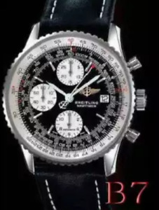 Brand new breitling watch with leather strap