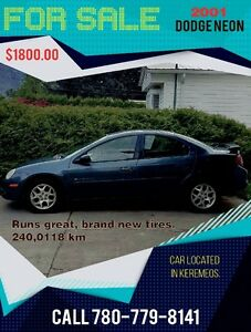 2001 Dodge Neon BLUE Other