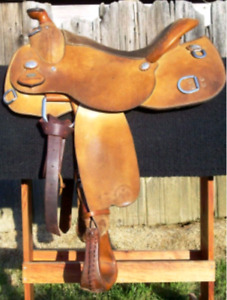 Looking for Trainer reining saddle