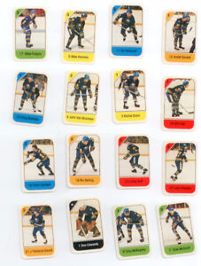 POST 82-83 Buffalo Sabres Hockey cards Perreault, Ramsey