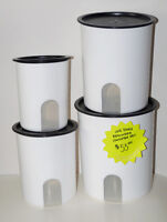 One Touch Reminder Cannister Set - Tupperware New