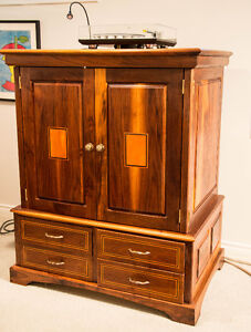 NEW PRICE - GORGEOUS ALL WOOD CABINET