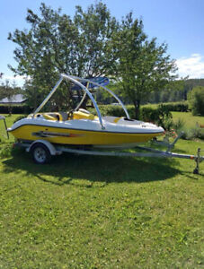 2002 seadoo sportster with twin engine