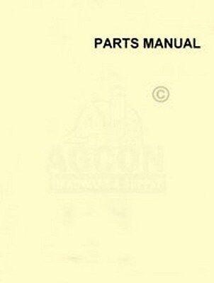 John Deere 30h Ten Foot Tractor Binder Parts Manual 30