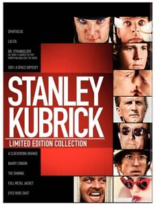 Stanley Kubrick: Limited Edition Collection -- OOP Blu Ray Box