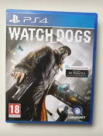 Ps4 Watchdogs video game