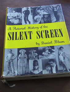 A Pictorial History of the Silent Screen, Daniel Blum, 1953 Kitchener / Waterloo Kitchener Area image 1