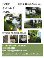ROOM TO GROW IN MOUNTVIEW - FOR SALE BY OWNER