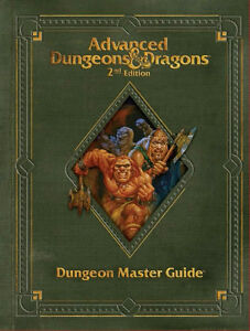 Dungeons & Dragons 2nd Edition Dungeon Masters Guide