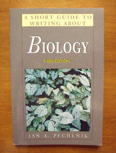 A Short Guide to Writing About Biology (3rd edition) by Pechenik