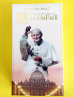Pope John Paul II Double VHS The Life And Teachings