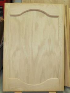 Unfinished custom-made white solid oak cabinet doors ..BRAND NEW