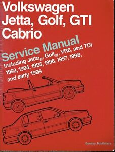 Bentley VW Service Manual 1993 to Early 1999
