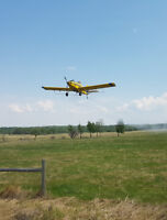 Professional Agricultural Turbine Aerial Applicator Wanted