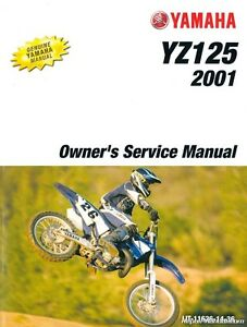 YZ 125 OWNERS/SERVICE MANUAL