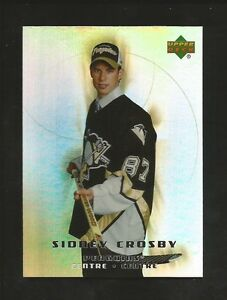 SIDNEY CROSBY ... ROOKIE CARD .. 2005-06 McDONALD's (Upper Deck)