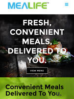 Fresh Cooked Meals delivered to your door step