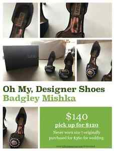 BADGLEY MISCHKA HI HEEL SHOES SIZE 7 Strathcona County Edmonton Area image 1