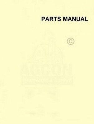 John Deere Beet Bean Planter Cultivator Parts Manual 16