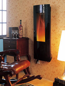 Electric Wall -Mounted Fireplace, Store Clearance