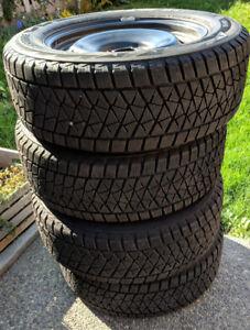Bridgestone Winter Tires with rims for Ford Edge