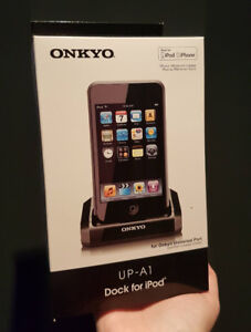 Onkyo UP-A1 iPod Dock NEW