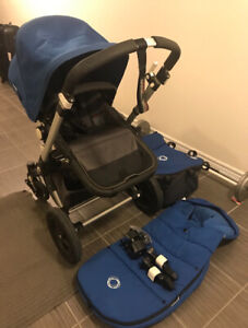 Bugaboo Cameleon 3 stroller system complete with footmuff