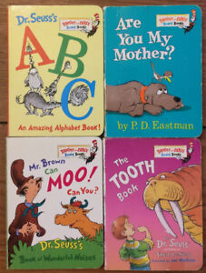 Board Books by DR SEUSS 4 for $10